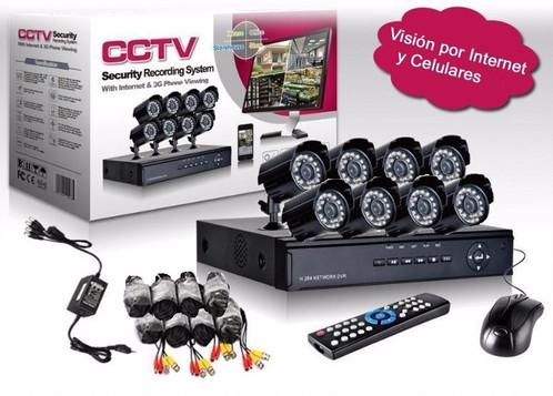 Kit de Seguridad 8 Cámaras HD