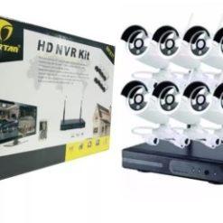 Kit de 8 Cámaras Wifi